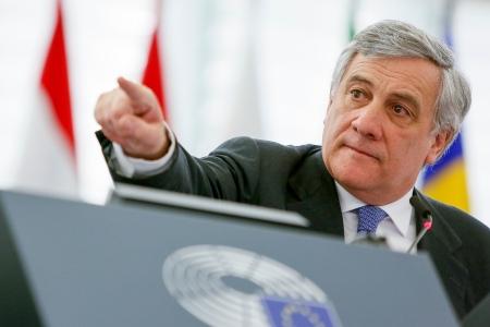 Antonio Tajani, nyvald ordförande i EU-parlamentet. Foto: © European Union 2017 – Source : EP.