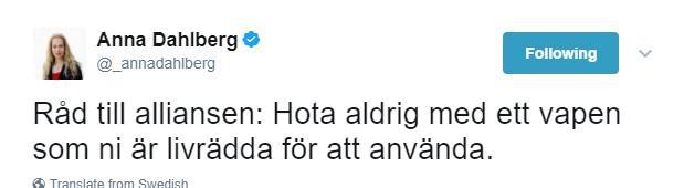 Anna D om budget