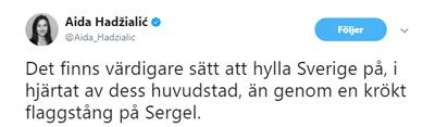 Aida Flaggstång